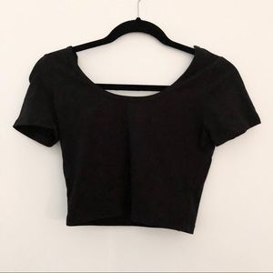 Fitted Cropped Tee